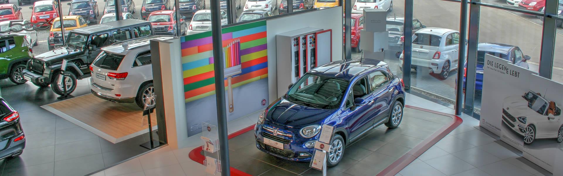 Fiat, Kia, Alfa Romeo, Abarth, Jeep®, Fiat Professional Vertragshändler Augsburg