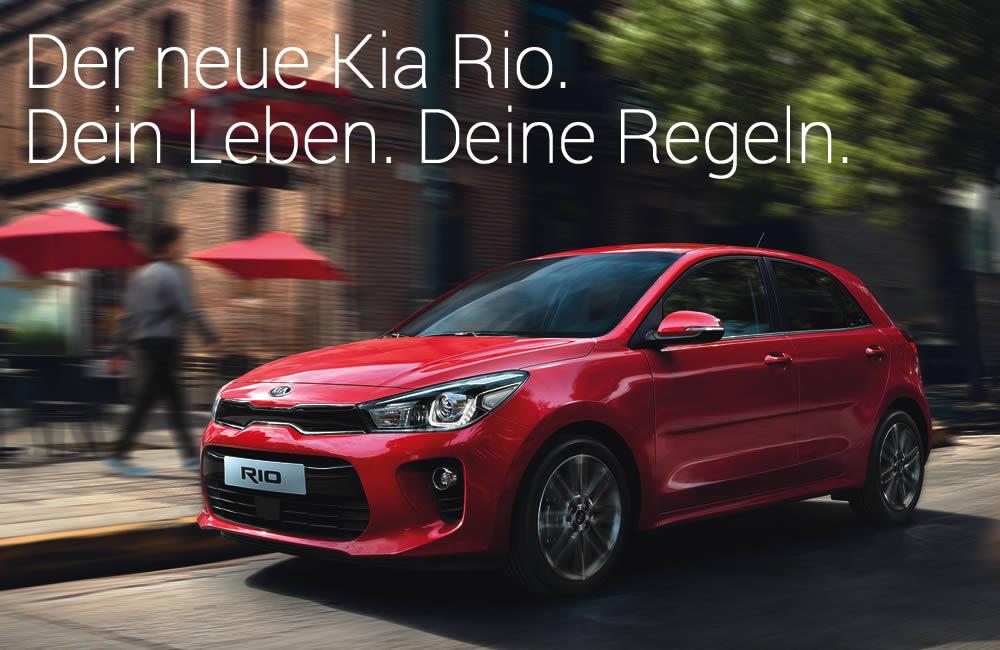 Premierenfeier: der neue Kia Rio im Autohaus Mayrhörmann GmbH