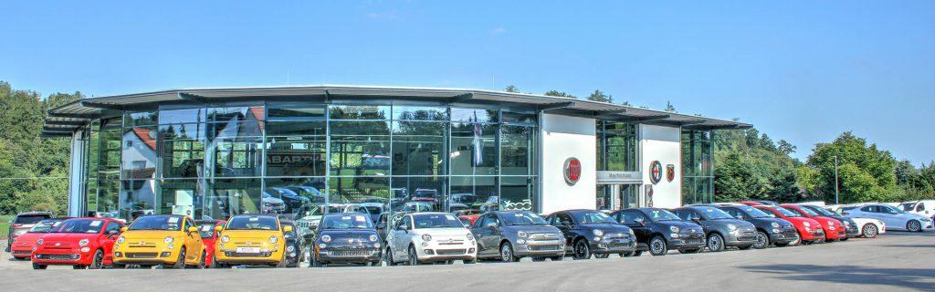 Showrooms: Fiat, Kia, Alfa Romeo, Abarth, Jeep®, Fiat Professional Vertragshändler Augsburg