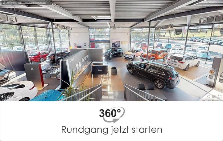 360 Grad Rundgang Autohaus Mayrhörmann GmbH