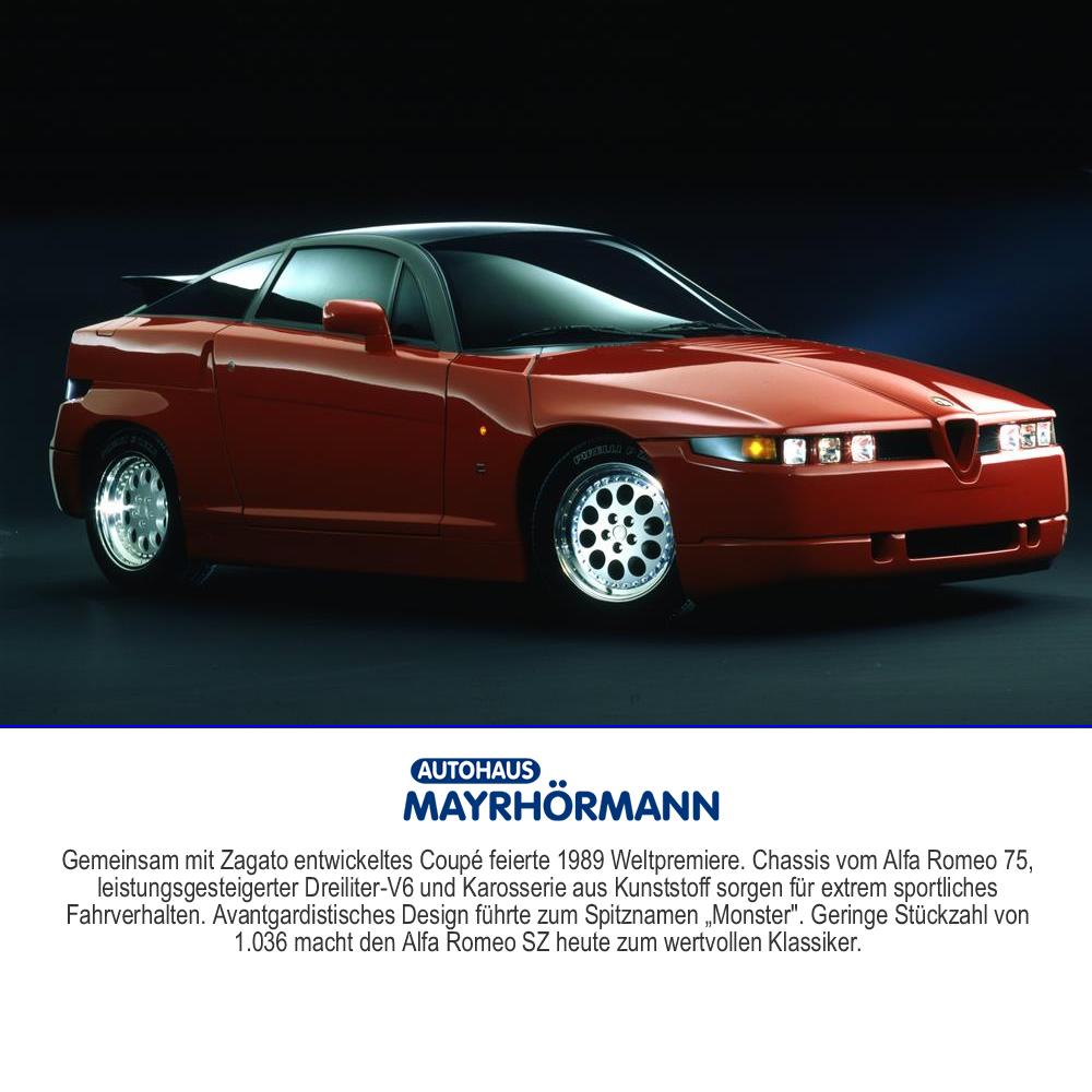 30 Jahre Alfa Romeo SZ // Autohaus Mayrhörmann GmbH