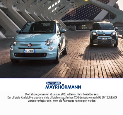 Fiat 500 Hybrid und Fiat Pandy Hybrid Launch Edition