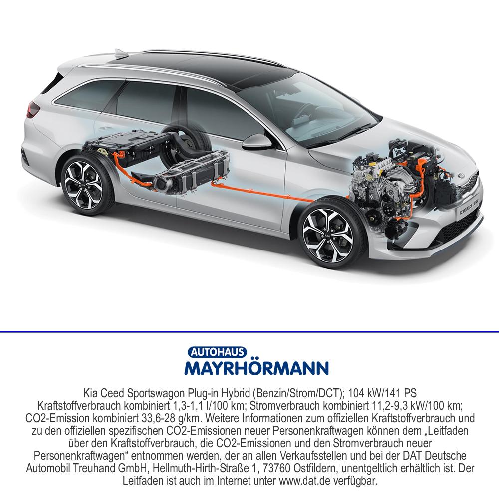 Kia Ceed Plug-in Hybrid im Autohaus Mayrhörmann GmbH