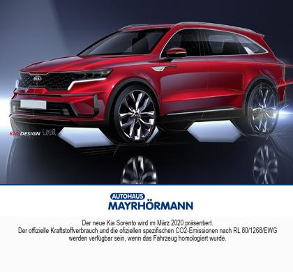 Kia Sorento Neuvorstellung 2020 // Autohaus Mayrhörmann GmbH