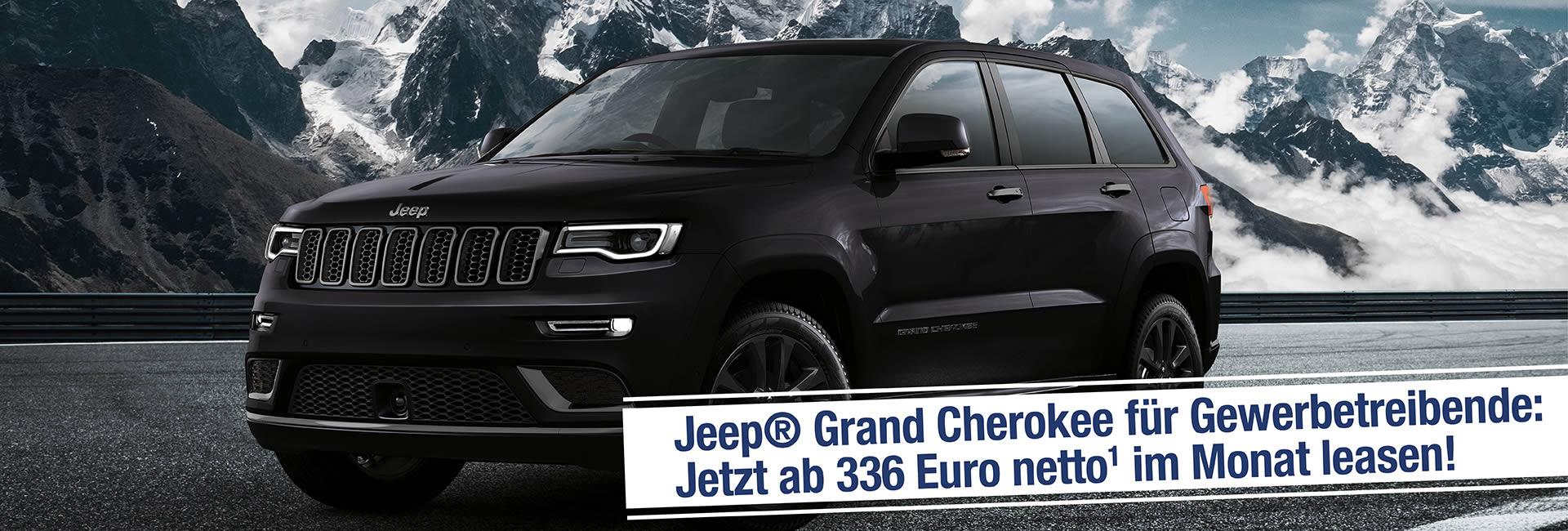 Slider – Jeep Grand Cherokee Leasing Angebot Autohaus Mayrhoermann GmbH in Augsburg – Diedorf