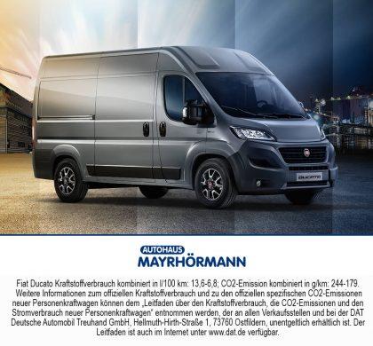 Auto des Monats 04-2020 Fiat Professional Ducato // Autohaus Mayrhörmann GmbH