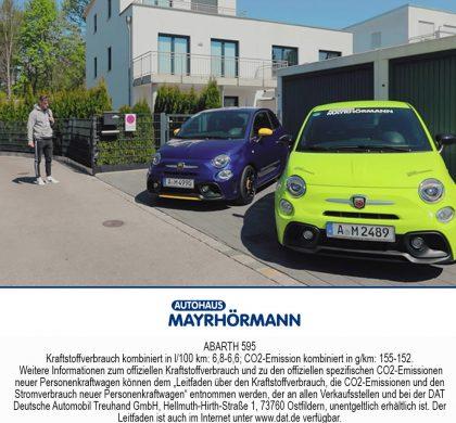 Abarth 595 Video Autohaus Mayrhörmann GmbH
