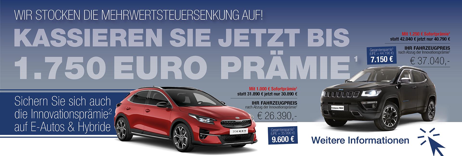 MwSt. Senkung 2020 Autohaus Mayrhörmann GmbH – Slider