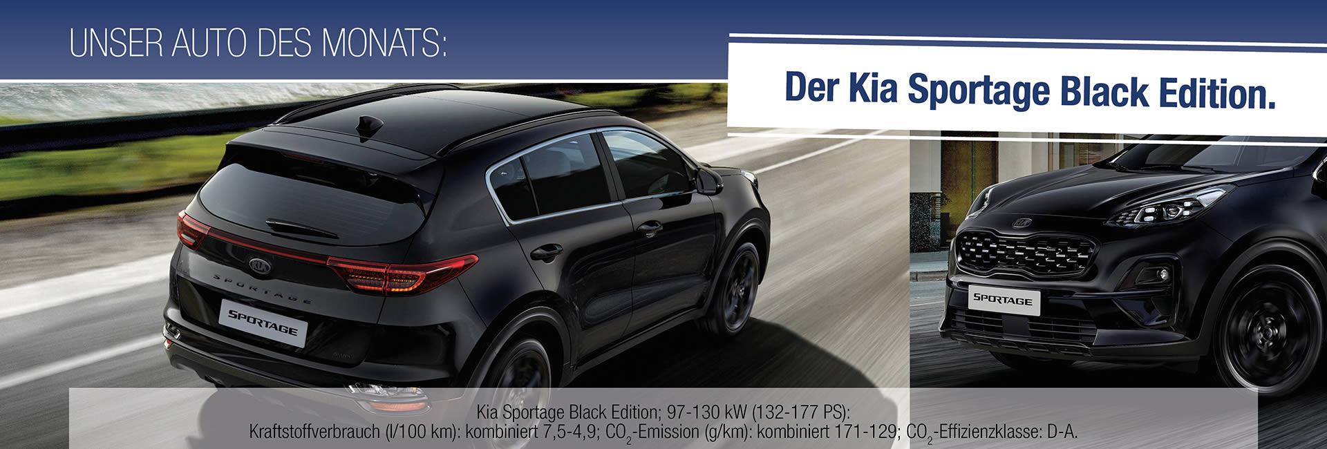 Auto des Monats 02-2021 Kia Sportage Black Edition – Slider