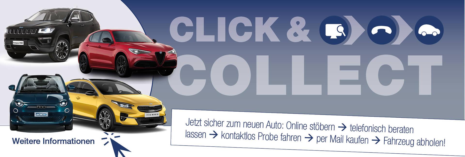 Slider Click & Collect Autohaus Mayrhörmann GmbH