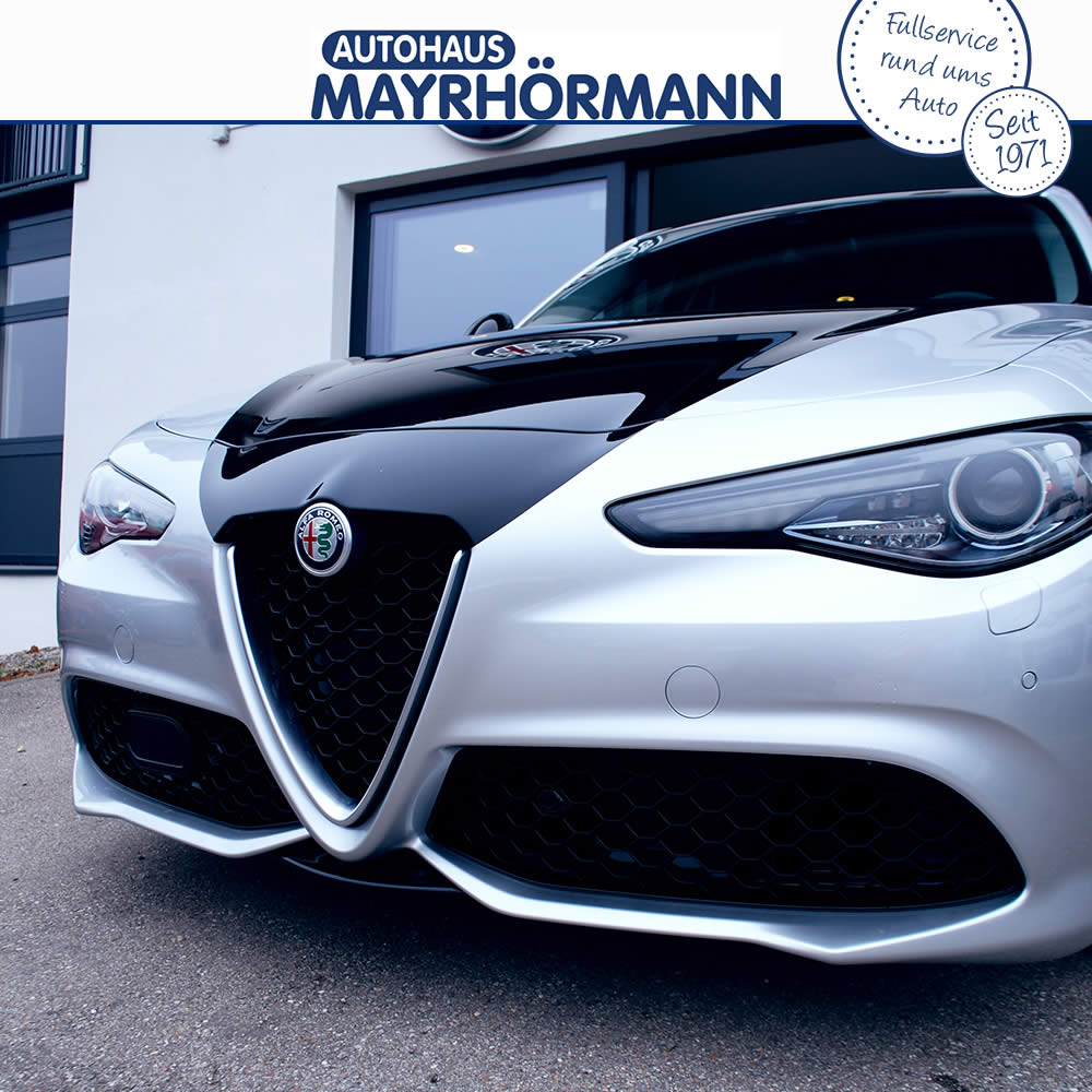 Alfa Romeo Giulia - Tuning by Autohaus Mayrhörmann GmbH