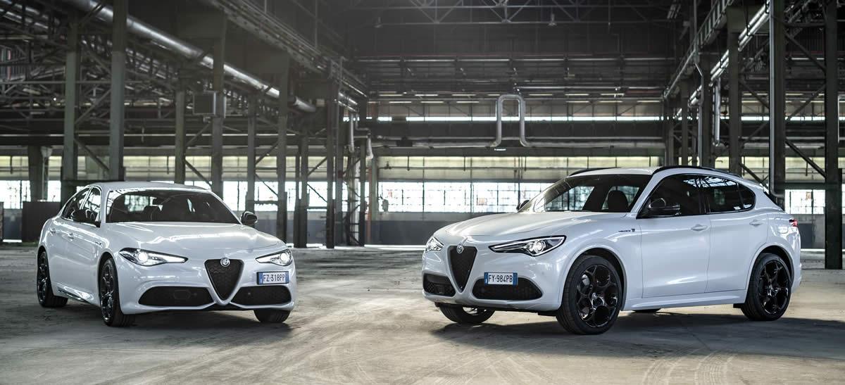 Alfa Romeo Giulia und Alfa Romeo Stelvio Modelljahr 2021 im Autohaus Mayrhörmann GmbH