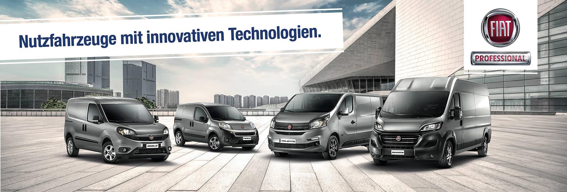 Fiat Professional Augsburg | Vertragshändler und Autohaus Mayrhörmann GmbH - Diedorf / Biburg