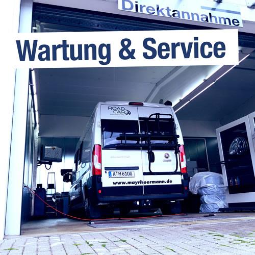 Wohnmobil Wartung und Service in Augsburg