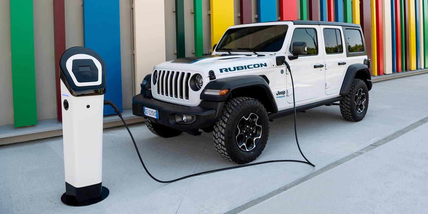 Jeep® Wrangler Rubicon 4xe