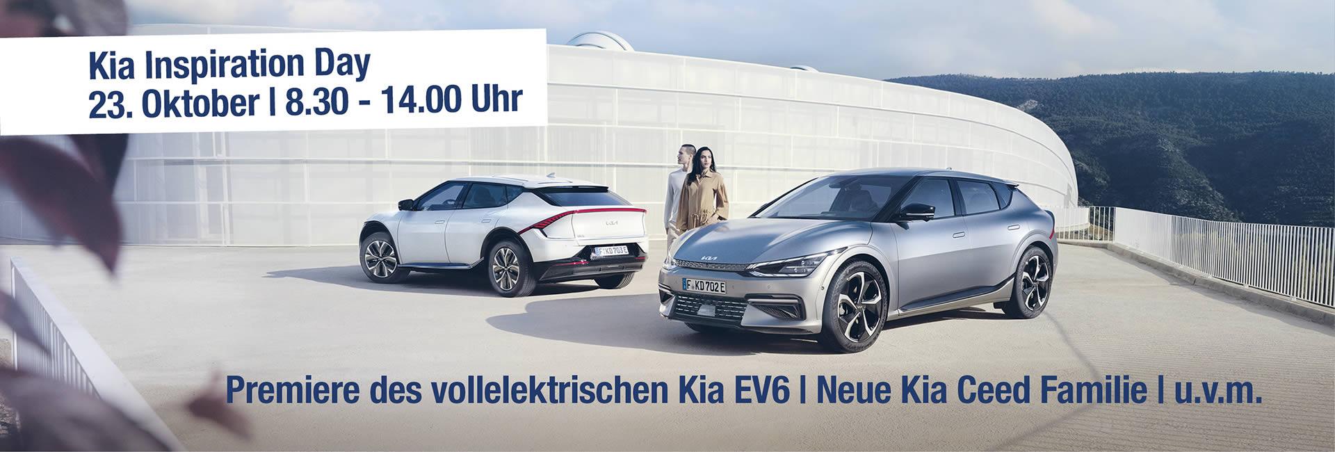 Kia Inspiration Day im Autohaus Mayrhörmann GmbH – Slider