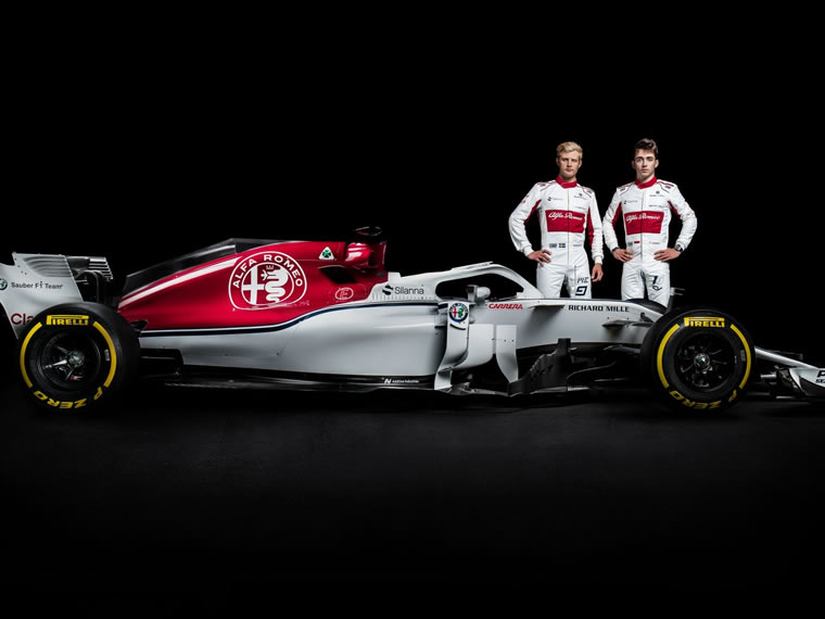 Alfa Romeo Sauber F1 Team stellt C37 vor