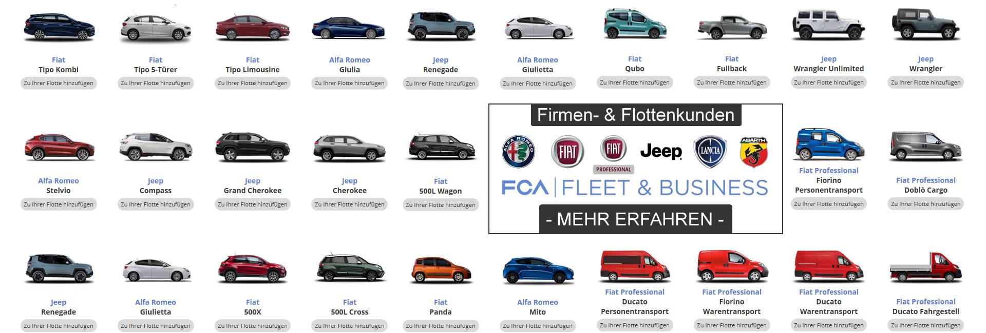 Autohaus Mayrhörmann GmbH - offizieller FCA | Fleet & Business Partner