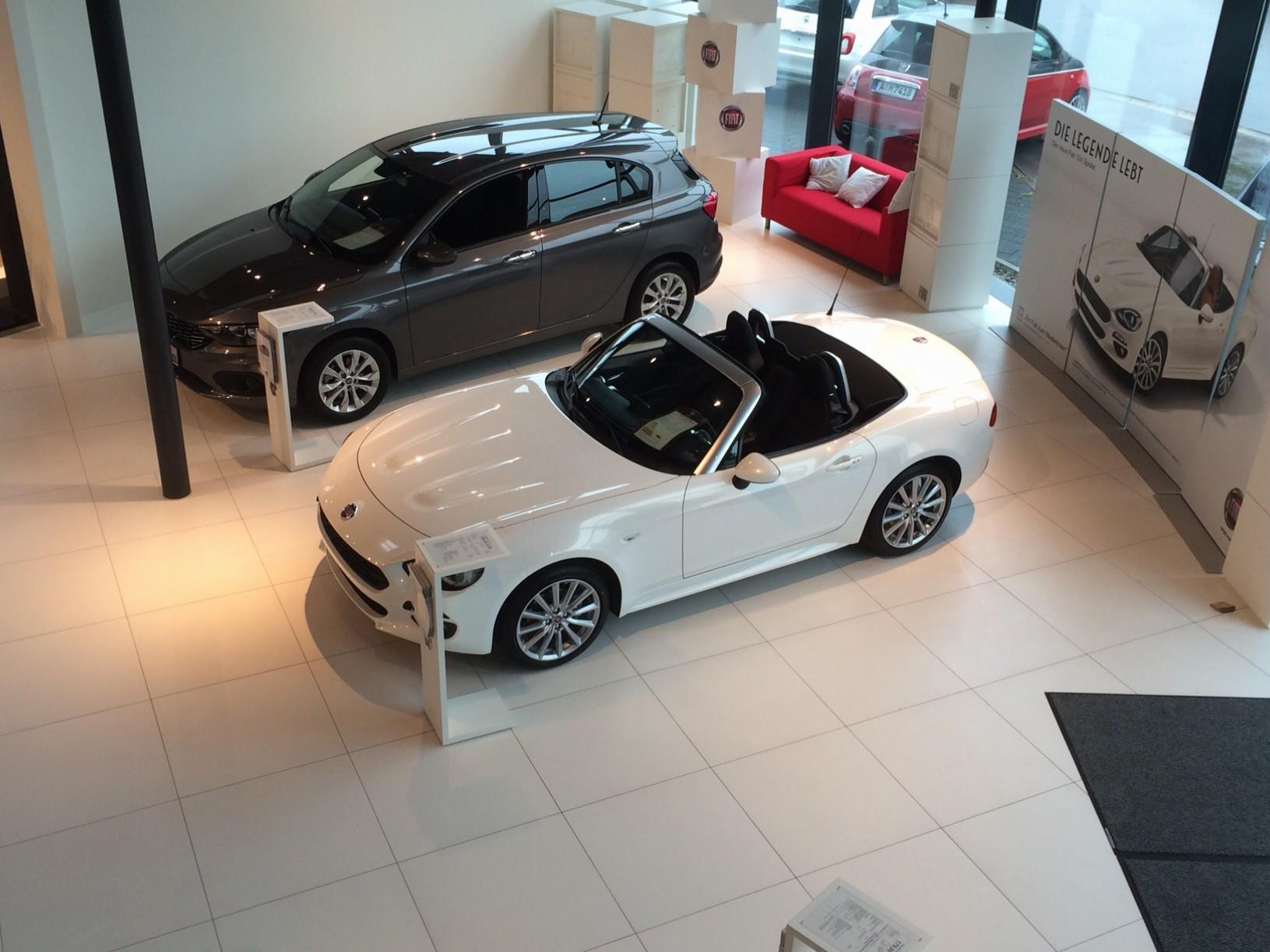 Neuer Fiat 124 Spider bei uns im Autohaus