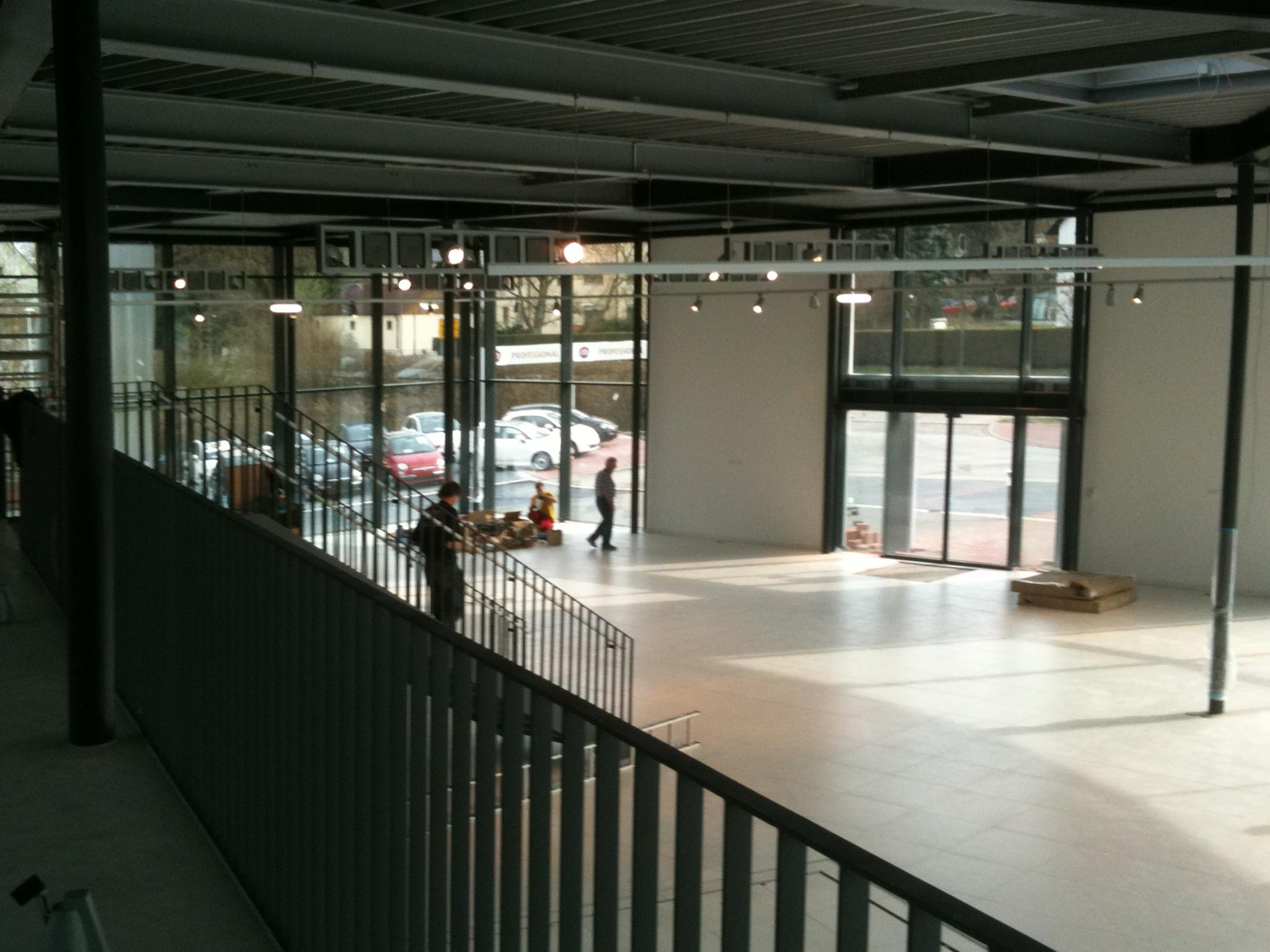 Neueröffung des Ausstellungsraums